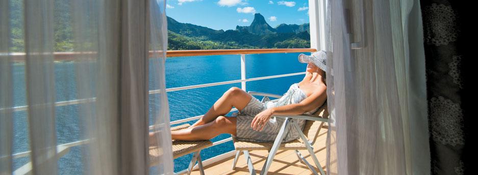 A  balcony view