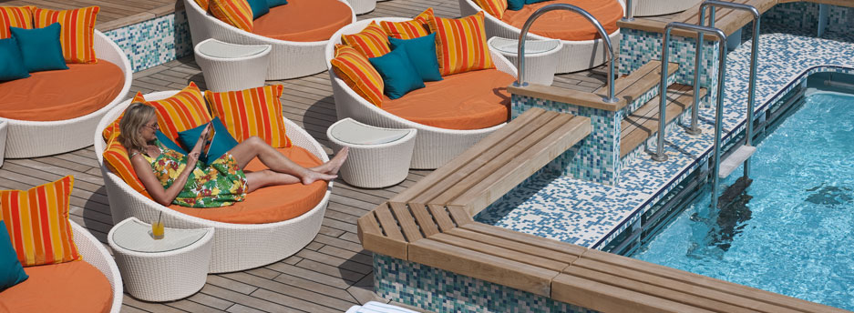 Crystal Serenity - pool deck