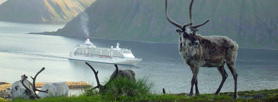 Seven Seas Voyager in Norway