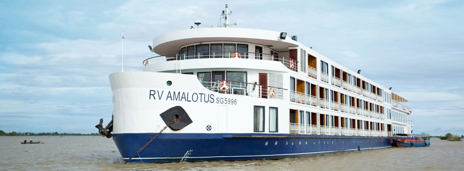 The RV AmaLotus, river cruising on the Mekong River with APT