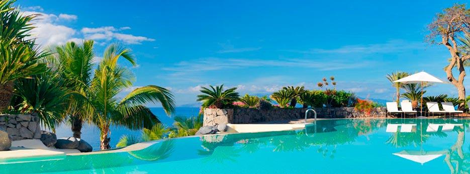 Abama El Mirador pool, Tenerife