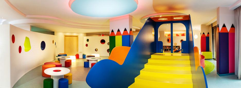 Abama Club Abami bright play area