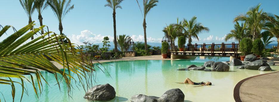 Abama - main swimming pool