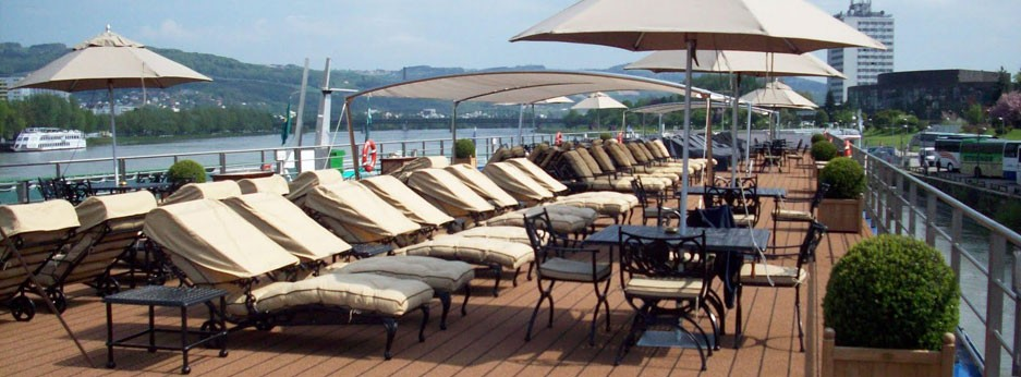 Avalon Waterways, sundeck