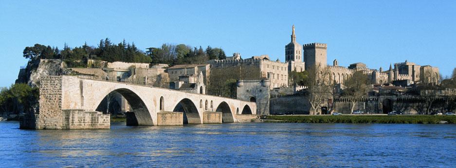 Pont Saint-Bénézet, Avignon - courtesy of Rail Discoveries