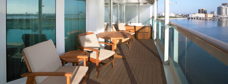 Celebrity Cruises, Freedom of the Seas, Royal Suite with balcony