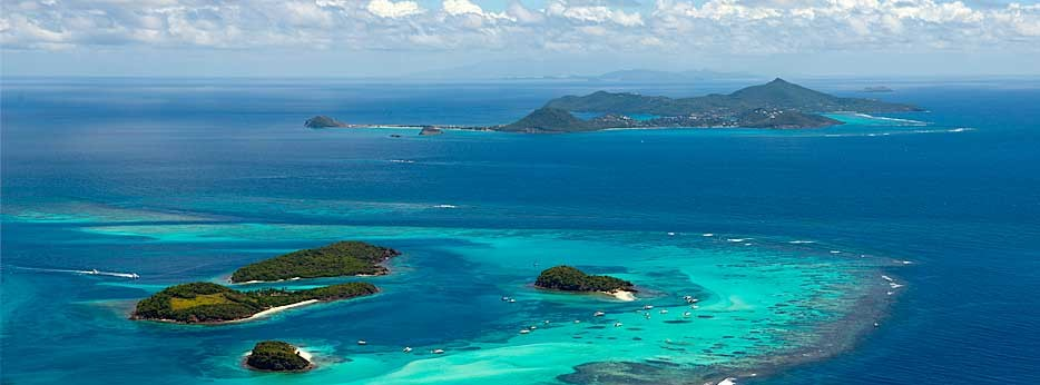 Canouan Island - courtesy of Carrier