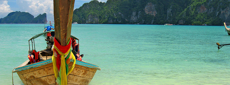 Beautiful coastal scenery, Thailand