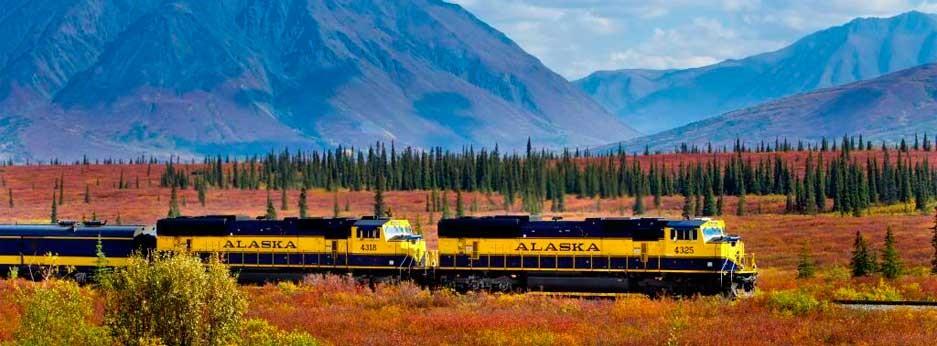 Broadpass, Alaska - courtesy of Ffestiniog Travel