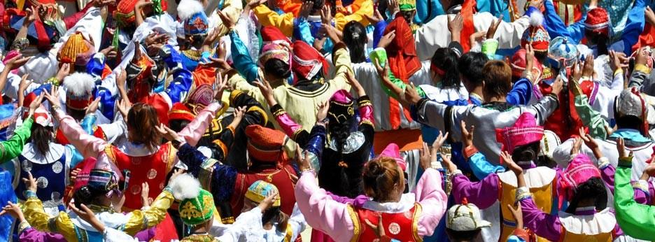 Naadam Festival opening ceremony in Ulaan Baatar, Golden Eagle Luxury Trains