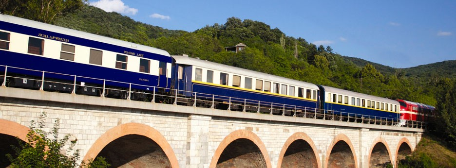 Danube Express exterior - courtesy of Golden Eagle Luxury Trains