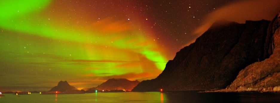 Hurtigruten cruise in Autumn to see the Northern Lights near Svolvaer