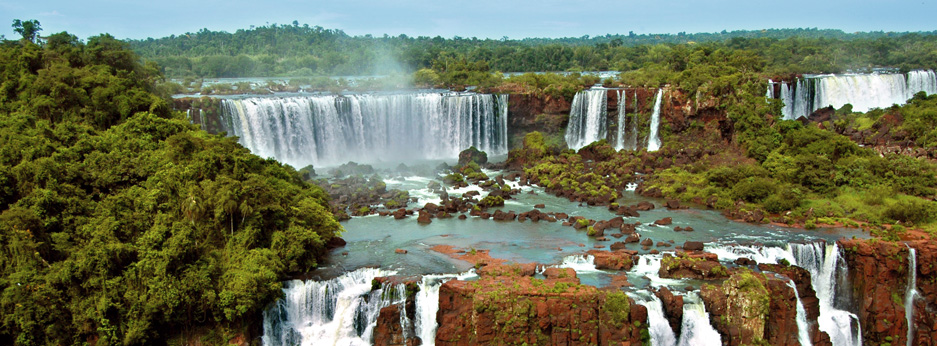 Iguazu waterfalls in Argentina and Brazil - courtesy of Cox and Kings