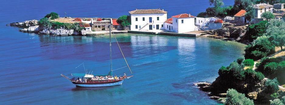 Jasteni Bay, Pelion Peninsula, Greece