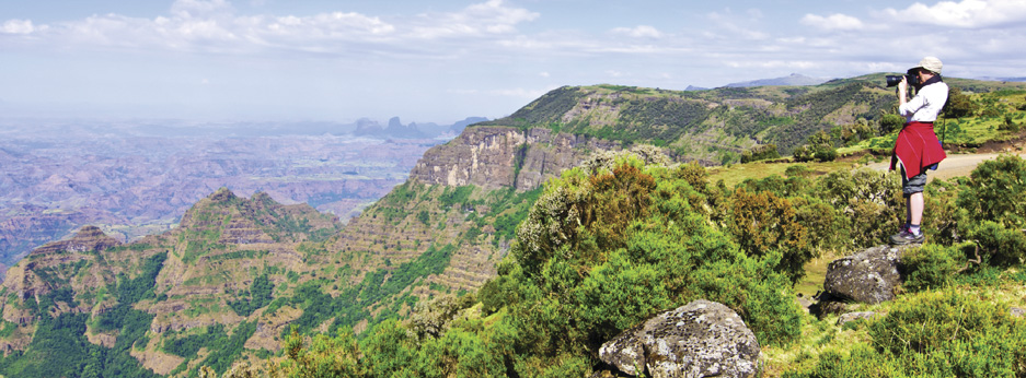 Simien Mountains, North Ethiopia - courtesy of Cox and Kings
