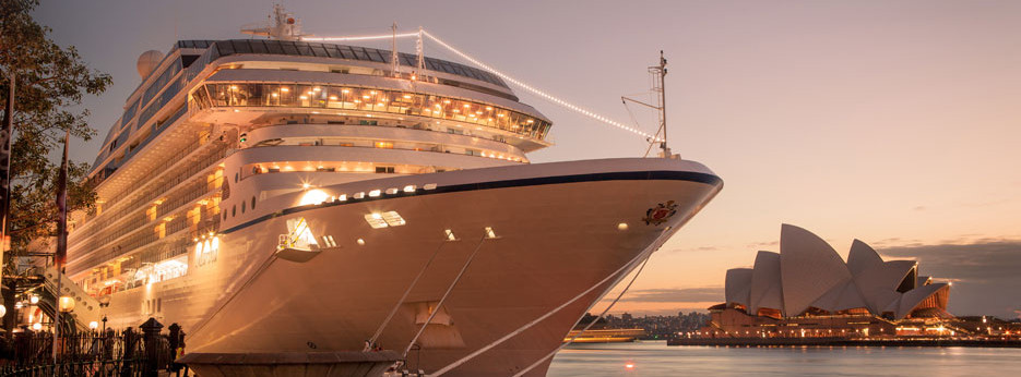 Oceania Cruises | Sydney Harbour at sunset