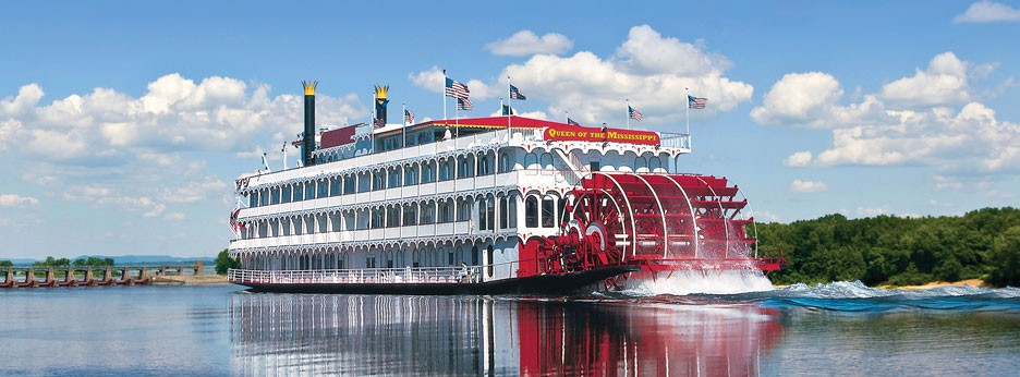 The Queen of the Mississippi, APT river cruises in the USA