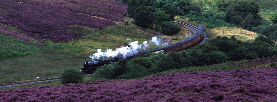 North Yorkshire Moors Railway - courtesy of Rail Discoveries