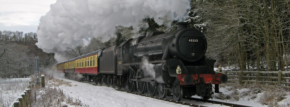 North Yorkshire Moors Railway in Winter - courtesy of Rail Discoveries