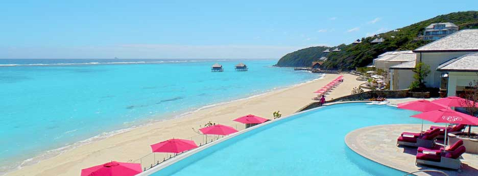 Pink Sands Club, pool - courtesy of Carrier