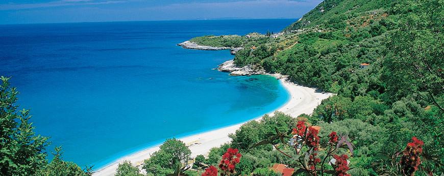 Papa Nero Beach, Pelion Peninsula, Greece