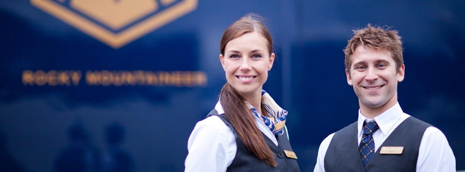 Service with a smile from Rocky Mountaineer