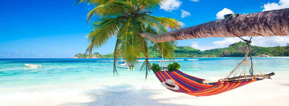 Seychelles - hammock and beach