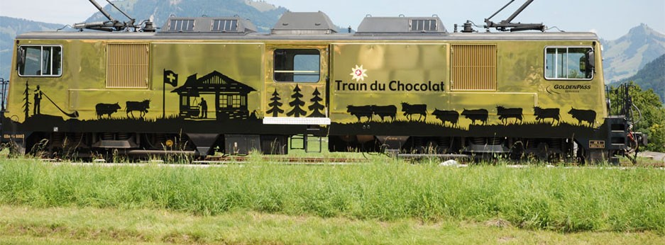 The Chocolate Train, courtesy of The Swiss Holiday Company
