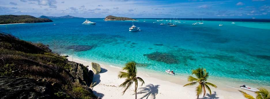 Pink Sands Club, Tobago Cays - courtesy of Carrier