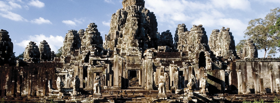 Bayon Temple, Angkor Thom Siem Reap, Cambodia - courtesy of Cox and Kings