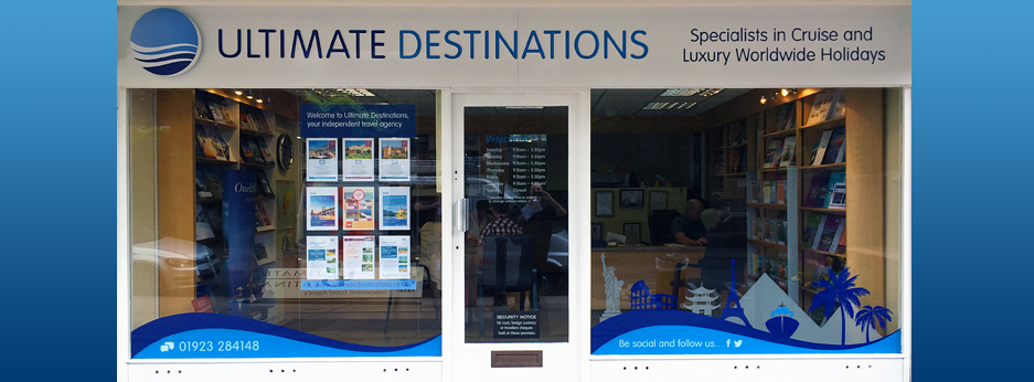 Luxury travel agent Utimate Destinations, Chorleywood