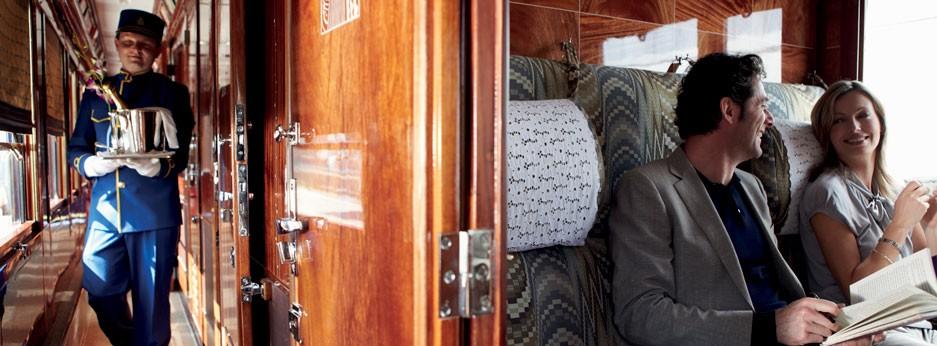 Cabin steward on the Venice Simplon Orient Express