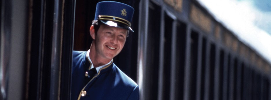 A warm welcome from the Venice Simplon Orient Express