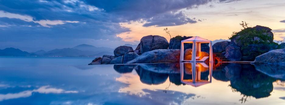 Vietnam, luxury beach resort, courtesy of Indus Experiences