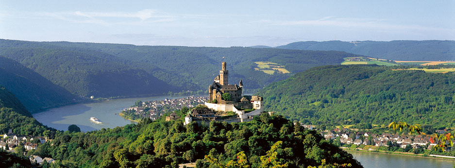 Castle on the Rhine, Germany