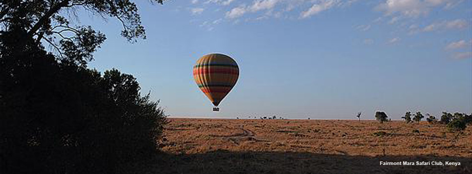 Balloon safari, Kenya, Africa