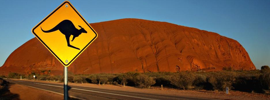 Ayers Rock, Australasia