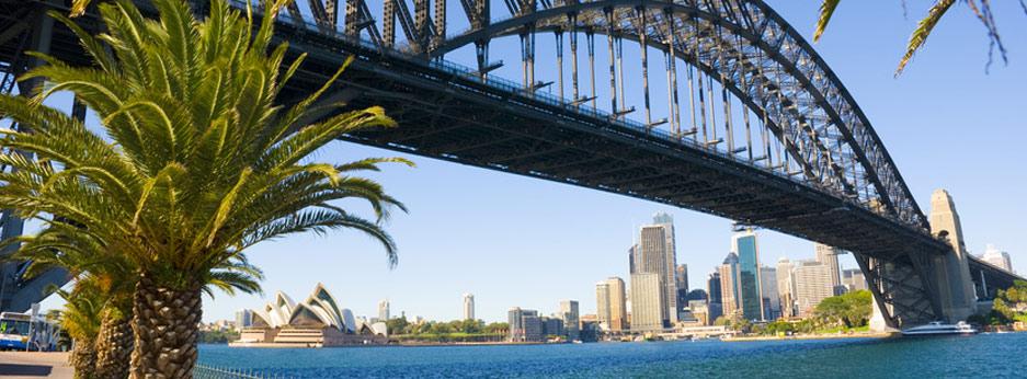 Anzac Bridge, Sydney, Australasia