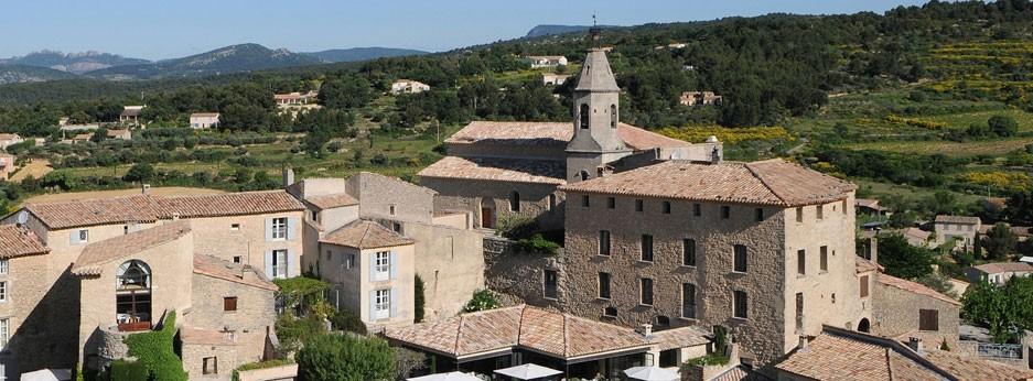 Crillon Le Brave Provence, Aerial View