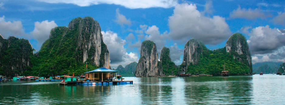 Ha Long Bay, Vietnam, courtesy of China Links Travel