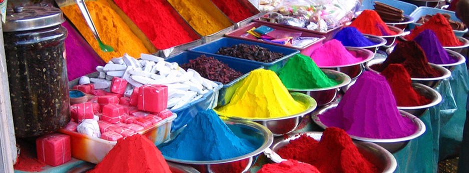 Dyes and Spices, India and Sri Lanka