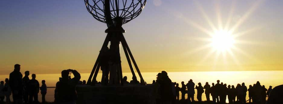 Norway - midnight sun at North Cape - copyright Innovation Norway