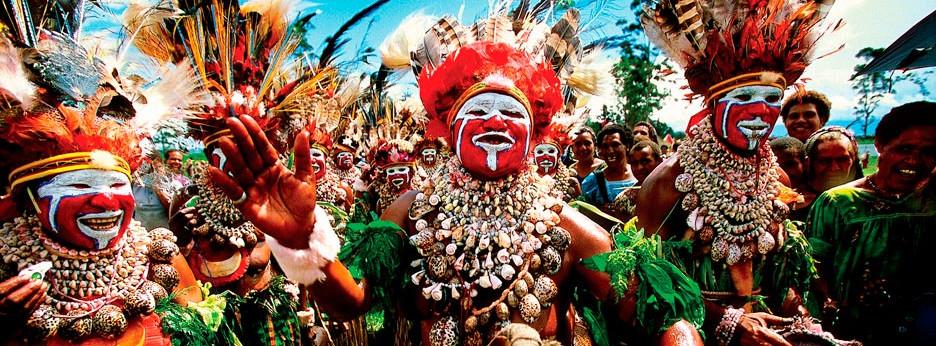 Tribal dancers, Papua New Guinea