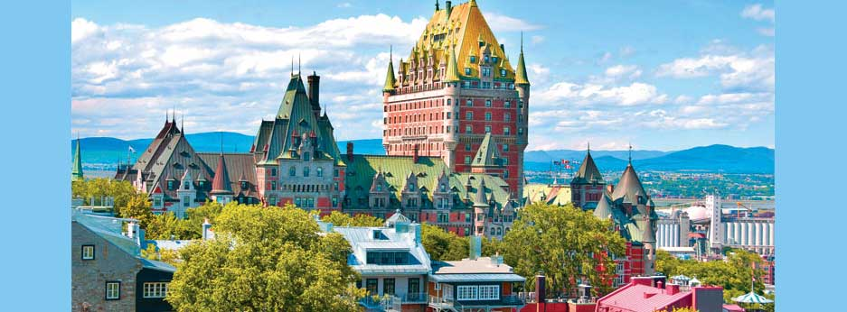 Quebec, Canada courtesy of Oceania cruises