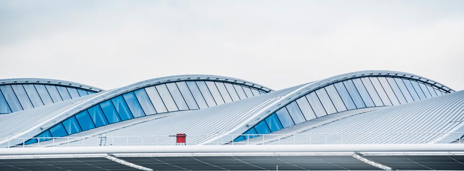 New roof at LHR terminal 2