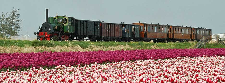 Hoorn Medemblik heritage railway, Netherlands - courtesy of Ffestiniog Travel