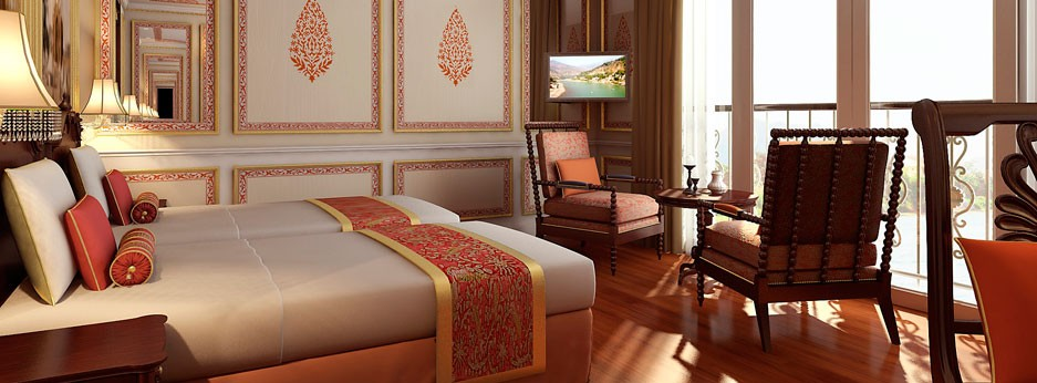 Colonial Stateroom on the RV Ganges Voyager, APT river cruises in India