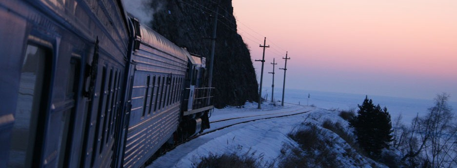 Lake Baikal in Winter, Golden Eagle Luxury Trains