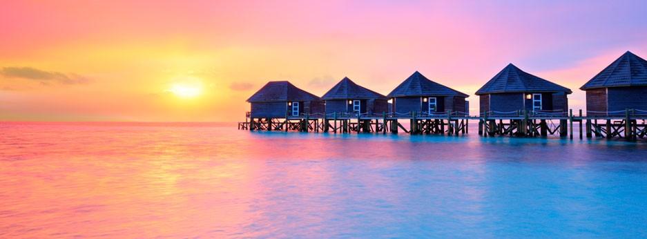 Maldives - sunset