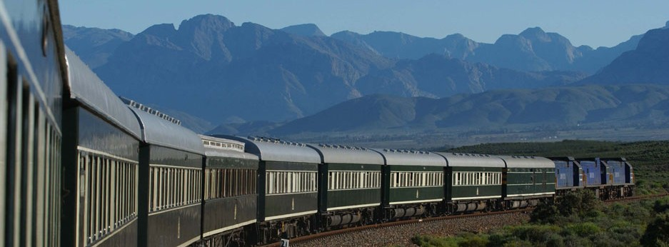Pride of Africa in the Outeniqua Mountains, Cape Province, Africa - courtesy of Great Rail Journeys